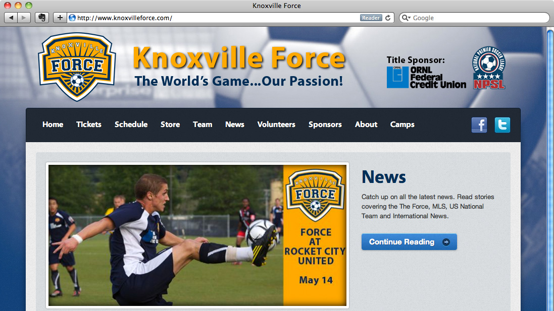 knoxvilleforce.com