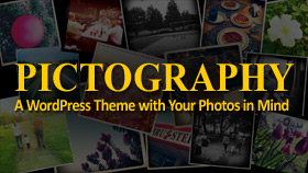 Pictography - WordPress Photoblog Theme